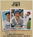 2017 Topps TBT 6) Set 8 60th Anniversary #43-48 Kris Bryant Seager Betts Lindor