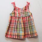 Gymboree Jungle Gem Madras Plaid Swing Sun Tank Top 5