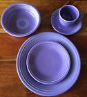 Fiesta Ware Retired Lilac 5-Piece Place Setting First Quality Unused