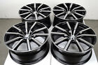18 5x108 Black Wheels Fits Jaguar XJ S Type Volvo Xc90 V50 V70 S60 5 Lug Rims