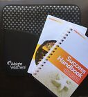 Weight Watchers Points Plus Bundle Padded Zipper Pouch Success Journal Cookbook