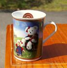 Proud To Be Bearmerican Danbury Mint Boyd's Teddy Bear Fine Porcelain Coffee Mug