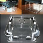 Laptop Stand Raised Stand Desktop Notebook Holder Crystal Clear New