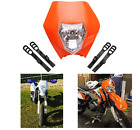 Universal motorcycle Dirt Bike Halogen Headlight Fairing Kit  Motocross Enduro