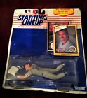 Los Angeles Dodgers Kirk Gibson 1990 Starting Lineup w Rookie Collectors Card