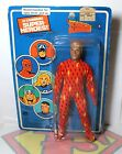 Original 1979 Mego Pin Pin Toys 8 Action Figure Human Torch Sealed Bubble Card