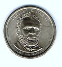 2011 D 1 Ulysess Grant Brilliant Uncirculated 18TH Presidential Dollar Coin