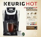 New Keurig K200 Single Coffee Maker Hot Brewer, Black