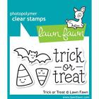 Lawn Fawn Photo polymer Clear Stamp Set Trick Or Treat Candy Corn Halloween