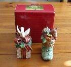 Fitz & Floyd Classics Gregorian Collection Salt & Peppers Shakers NIB