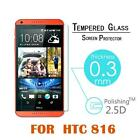 9H 03mm Tempered Glass Protective Back Film for HTC Desire 816 Screen Protector