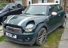 LARGER PHOTOS: 2010 MINI COOPER D DIESEL GREEN DAMAGED REPAIRABLE