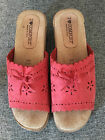 I LOVE COMFORT CLOG SHOES SIZE 9M ROSE COLORED GENTLY USED MADE IN ITALY