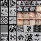 Stencil Alphabet Stencils Wall Painting Templates Craft Embossing Airbrush Craft