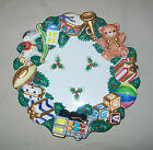 OMNIBUS Fitz & Floyd TOYLAND Canape Wall Hanging Plate Dish