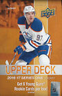 2016-17 UD Series #1 Factory Sealed Hobby Box With 6 Autos on Average