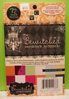 DCWV BEWITCHED Cardstock Matstack 72 Sheets Foil Glitter Texture Acid Free WOW
