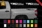 Trd Rock Warrior Decals Toyota Tundra Truck Racing Bed Vinyl Stickers X2