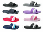 New Womens Ultra Soft Sports Slide Sandals Beach Shower Gym Pool Garden 03L