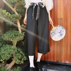 Kawaii Japanese Sweet Mori Girl Preppy Style Loose Zephyr Long Trousers Pants