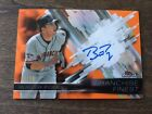 Buster Posey 2016 Topps Finest Franchise Orange Refractor On Card Auto #'d 2 25