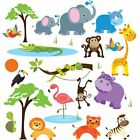 Wall Art Stickers Kids Animal Boy Kids Baby Decal For Bedroom Room Nursery Decor