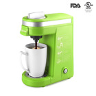 CHULUX Single Serve K Cup Coffee Maker with Removable Drip Tray,Green
