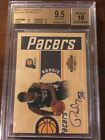 2010-11 Panini Threads #33 Paul George Autograph Rookie BGS 9.5 Gem Mint Pacers