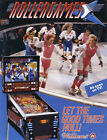 Williams ROLLERGAMES Original 1990 NOS Pinball Machine Sales Flyer Roller Games