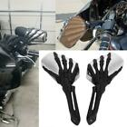 MOTOECYCLE Skull Hand Claw BIKE MOTORCYCLE REARVIEW SIDE MIRRORS FOR 8MM10MM