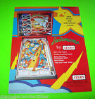LECTRONAMO By STERN 1977 ORIGINAL NOS PINBALL MACHINE PROMO SALES FLYER