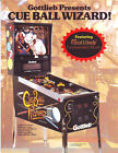 Gottlieb CUE BALL WIZARD 1992 Original NOS Pinball Machine Promo Sales Flyer