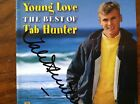 Tab Hunter signed cd  booklet The Best of Tab Hunter autographed