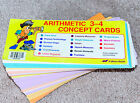ABeka ARITHMETIC 3 4 CONCEPT CARDS Math Flashcards  NICE COMPLETE SAVE