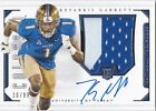 2016 Panini National Treasures Collegiate Football Cards - Checklist Added 16