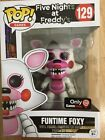 Funko Pop Figure Five Nights At Freddy's Funtime Foxy Game Stop Exclusive