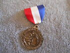 MICHIGAN MASTERS STATE CHAMPIONSHIPS BRASS MEDAL RIBBON WITH PIN