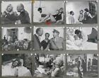 F25769 LAVVENTURA MICHELANGELO ANTONIONI 9 Original SP 7X9 b w photo Set