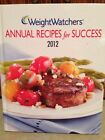 Hardcover Weight Watchers Recipes for Success Magazine Cookbook 2012