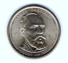 2011 P 1 James Garfield Brilliant Uncirculated 20TH Presidential Dollar Coin