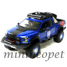 MAISTO 32521 OFF ROAD KINGS 2017 FORD F 150 RAPTOR 1 24 DIECAST MODEL CAR BLUE