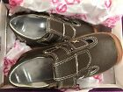 Toddler boy Pediped grip and go leather sandals brown size 7