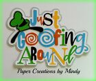 Craftecafe Mindy Disney Vacation Gooy premade paper piece scrapbook title diecut