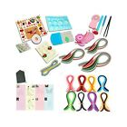 Quilling Paper Kits with Tools 40 colors Strips Board Mould Crimper Coach Com
