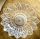 RARE FEDERAL PRESSED GLASS PEDESTAL CENTERPIECE BOWL EXCELLENT CONDITION