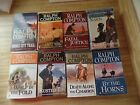 Lot of 8 Western Paperback Books Ralph Compton The Killing Season Fatal Justice