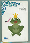 QuicKutz 4 x 4 Cutting Die PIN THE LIPS ON THE FROG REV 0163 D