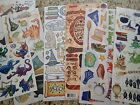 Lot of Scrapbooking Stickers Die Cuts Wizard Magical 7 pcs