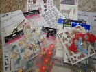 Lot of Scrapbooking Stickers Die Cuts Rub Ons Family Home Kids Animals 25 pcs