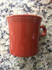 Fiestaware Mug  #453 Paprika Retired Color 10.25oz EUC